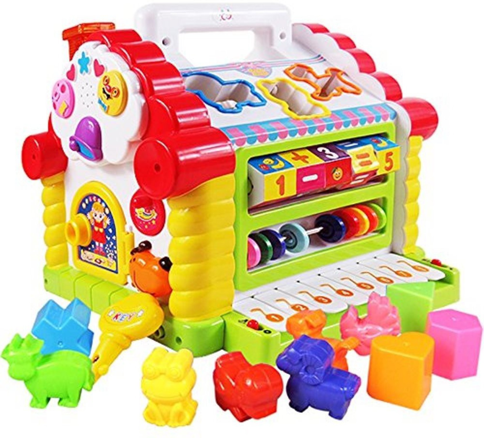 Huile Toys Colorful And Attractive Funny Cottage ...