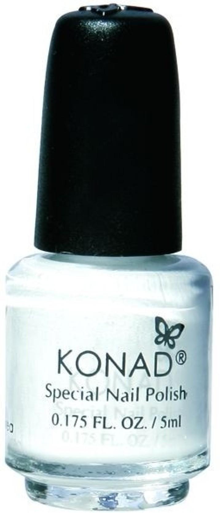 Konad Stamping Nail Art Polish - 5ml White - Price in India, Buy ...