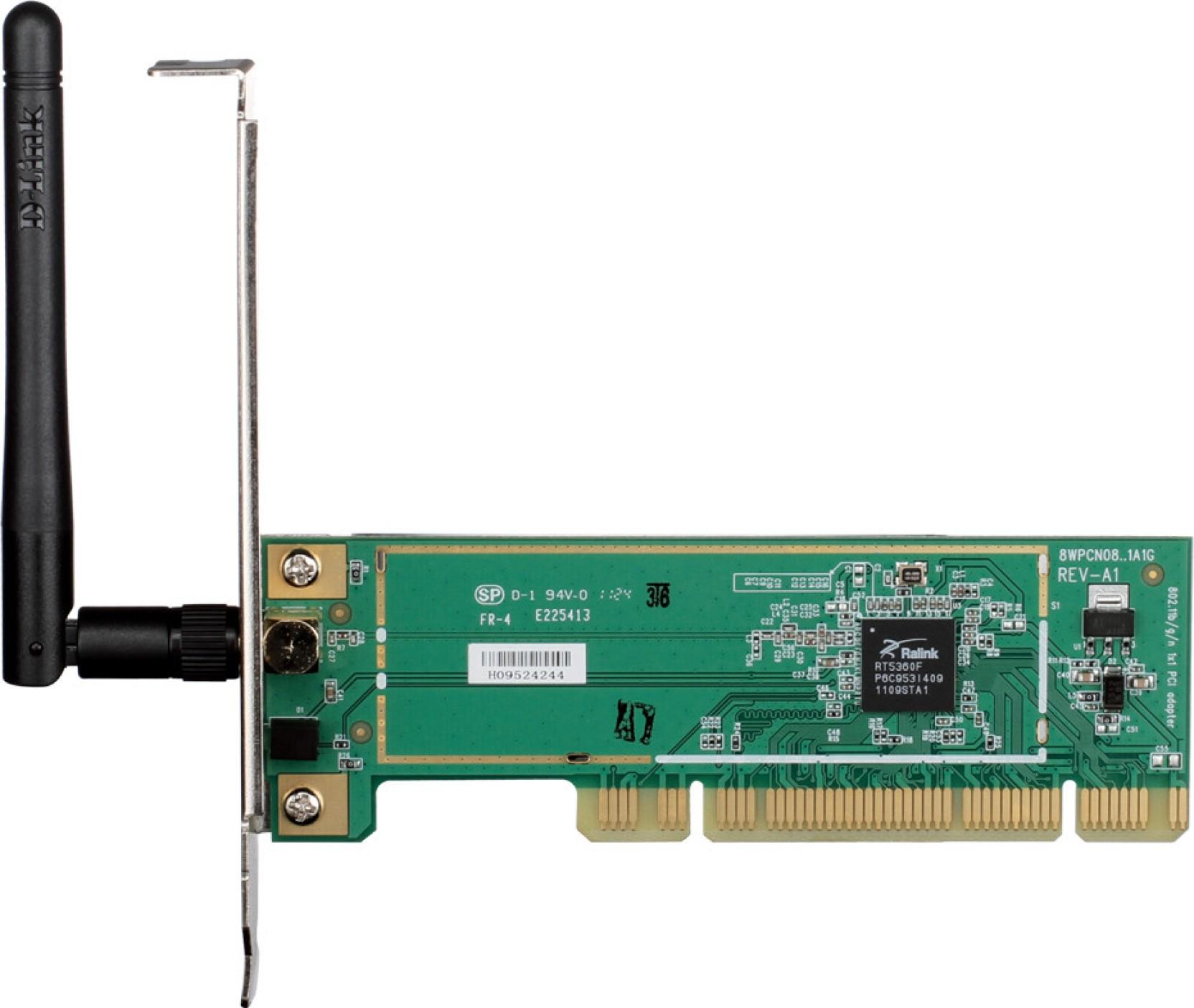 D-Link DWA-525 Wireless N 150 Desktop Adapter Network