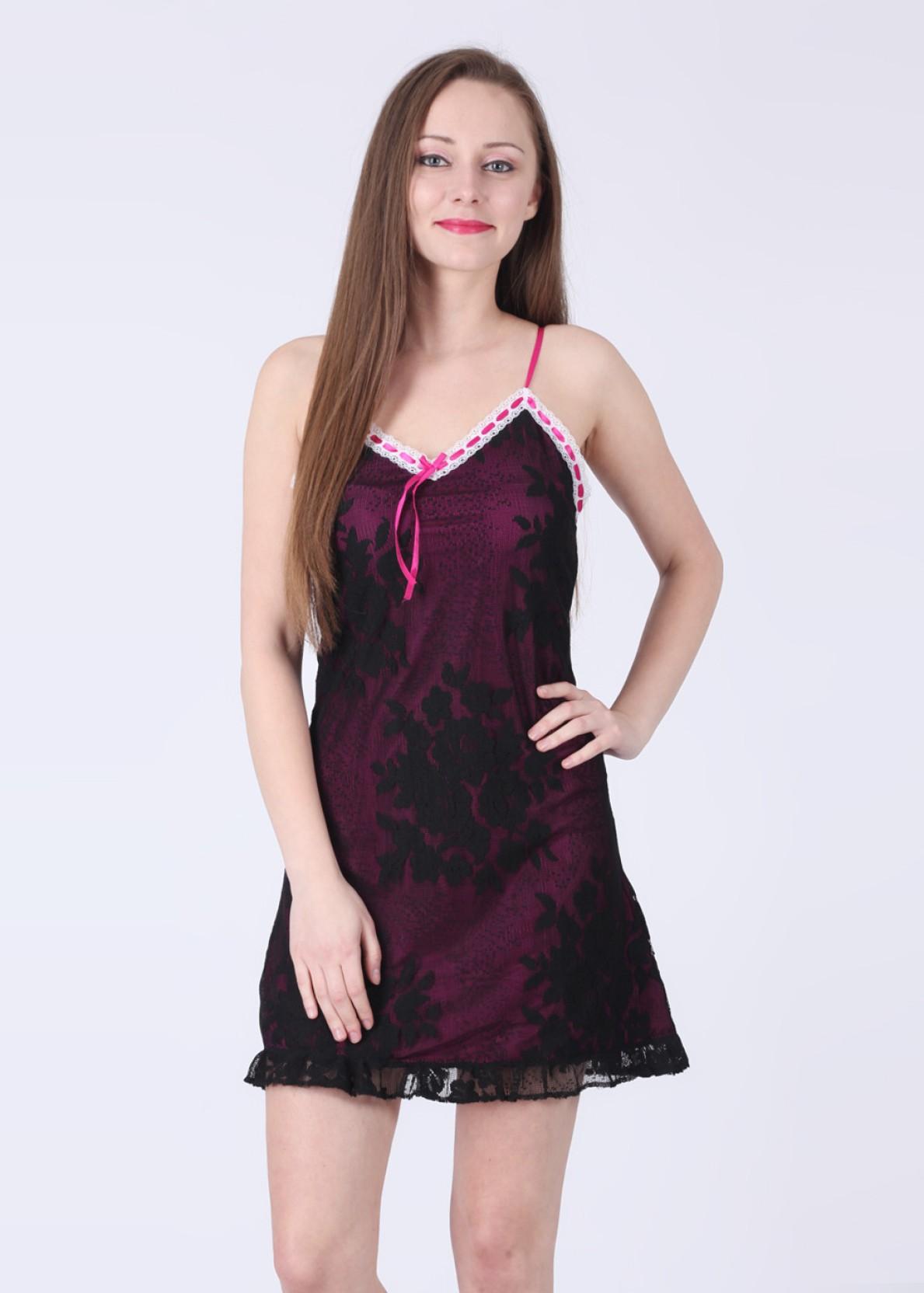 0ee3b87de Buy Satin Night Dress Online India