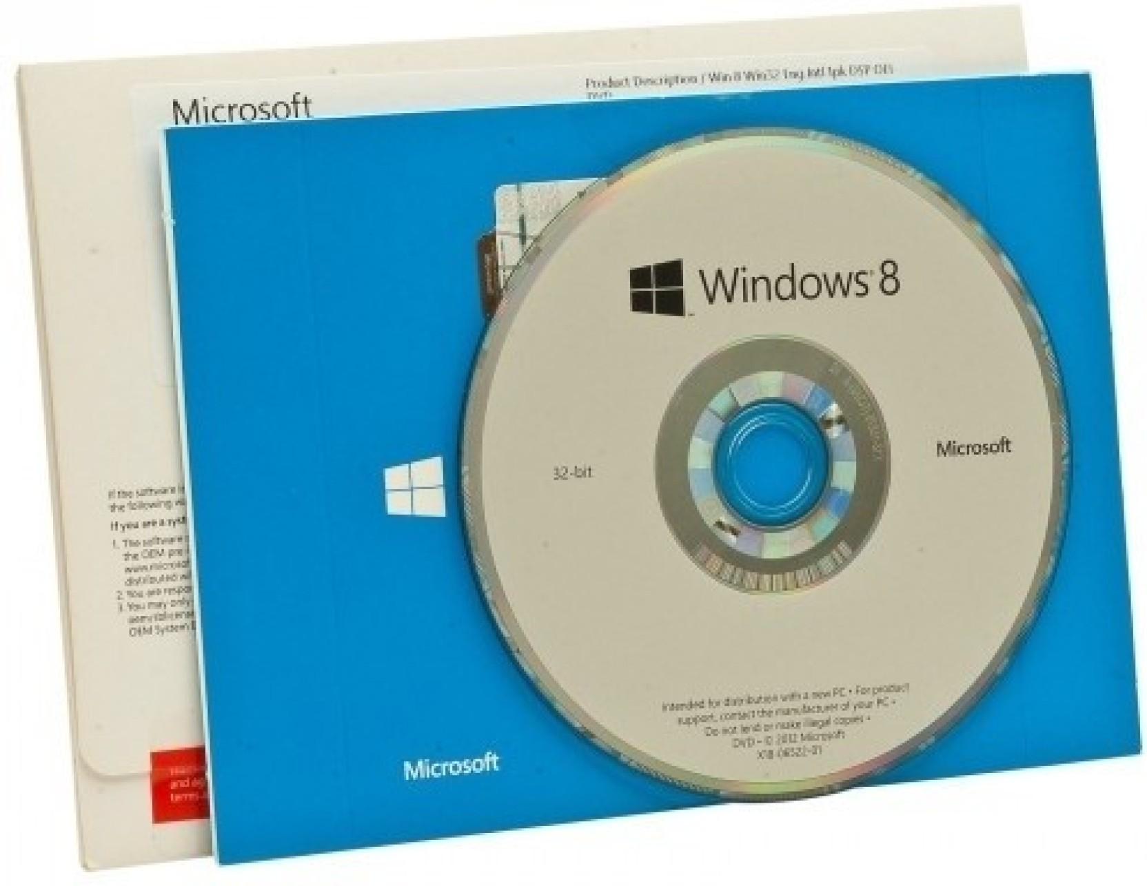 Microsoft Windows 8 81 Sl Oem 32 Bit 10 Home 64 Original