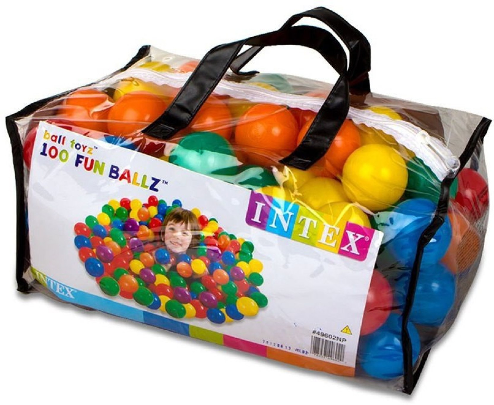 Intex Fun Balls 100 Pcs Fun Balls 100 Pcs Buy Balls toys in