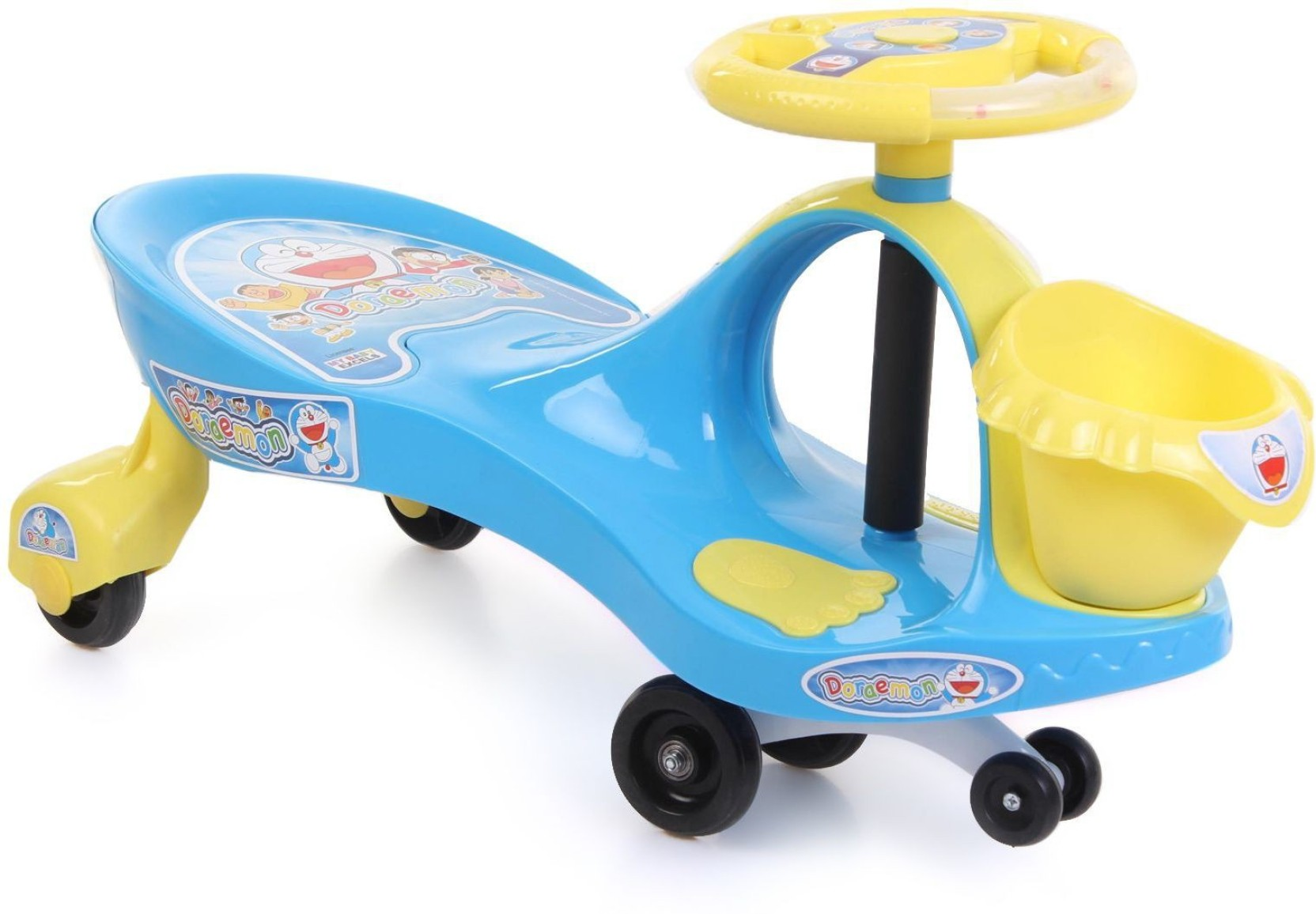 My Baby Excel Doraemon Swing Car with Basket Doraemon Swing Car