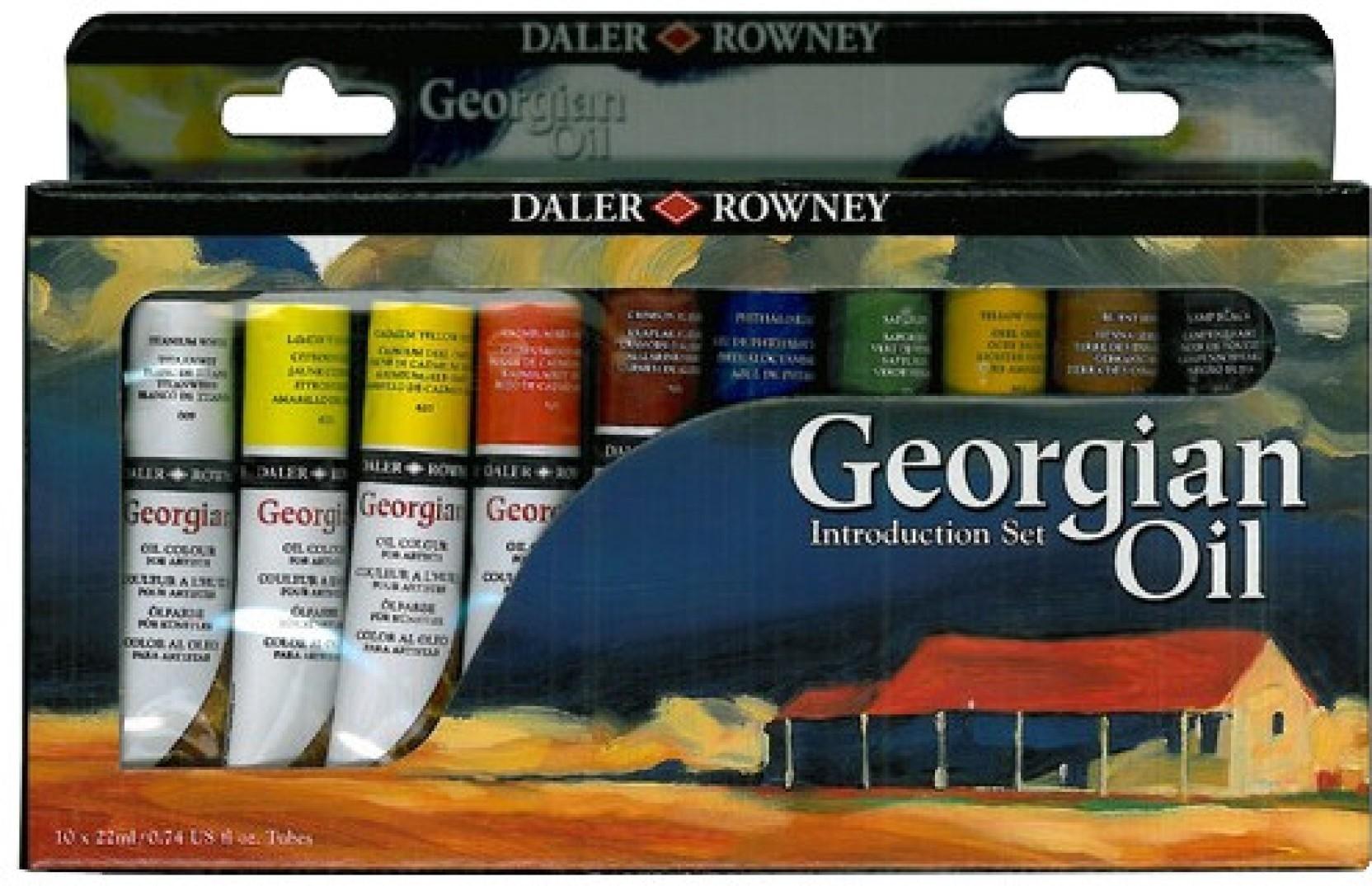 Daler rowney georgian oil paint for Oil paint price