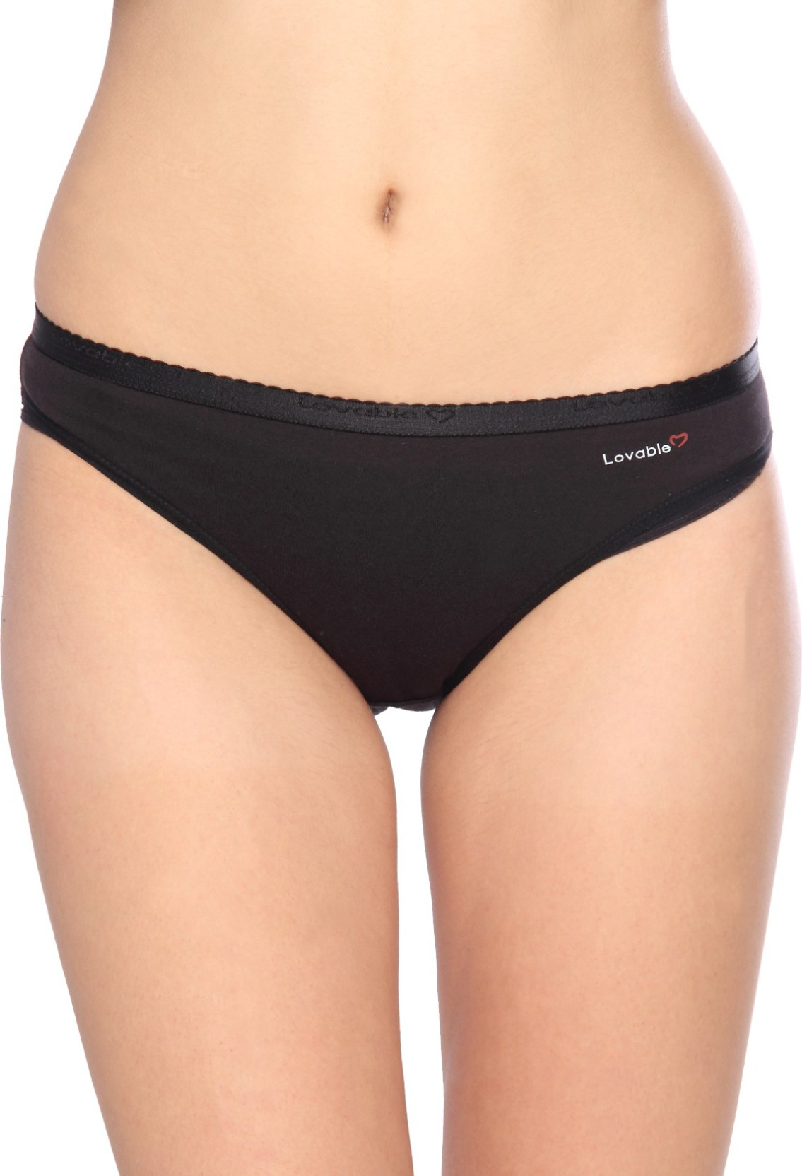 29bc6b90ad81 Lovable Ctn Bikini_black Women's Hipster Black Panty - Buy Assorted ...