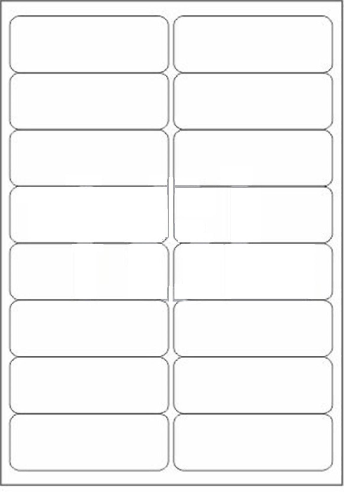 Novajet 16 A4 Size Sticker Paper Self Adhesive Paper Label