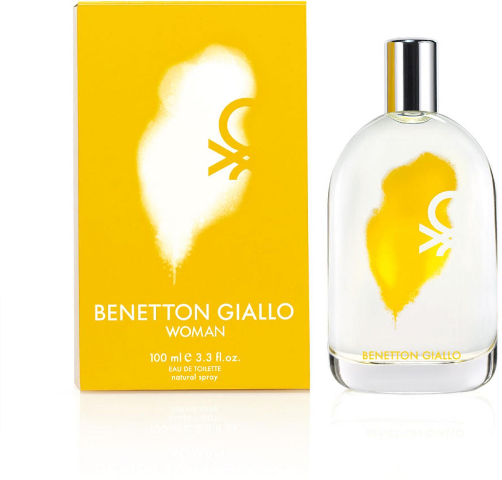 Buy Benetton Giallo Edt 100 Ml Online In India B United Jeans Man Parfum 100ml Original Home
