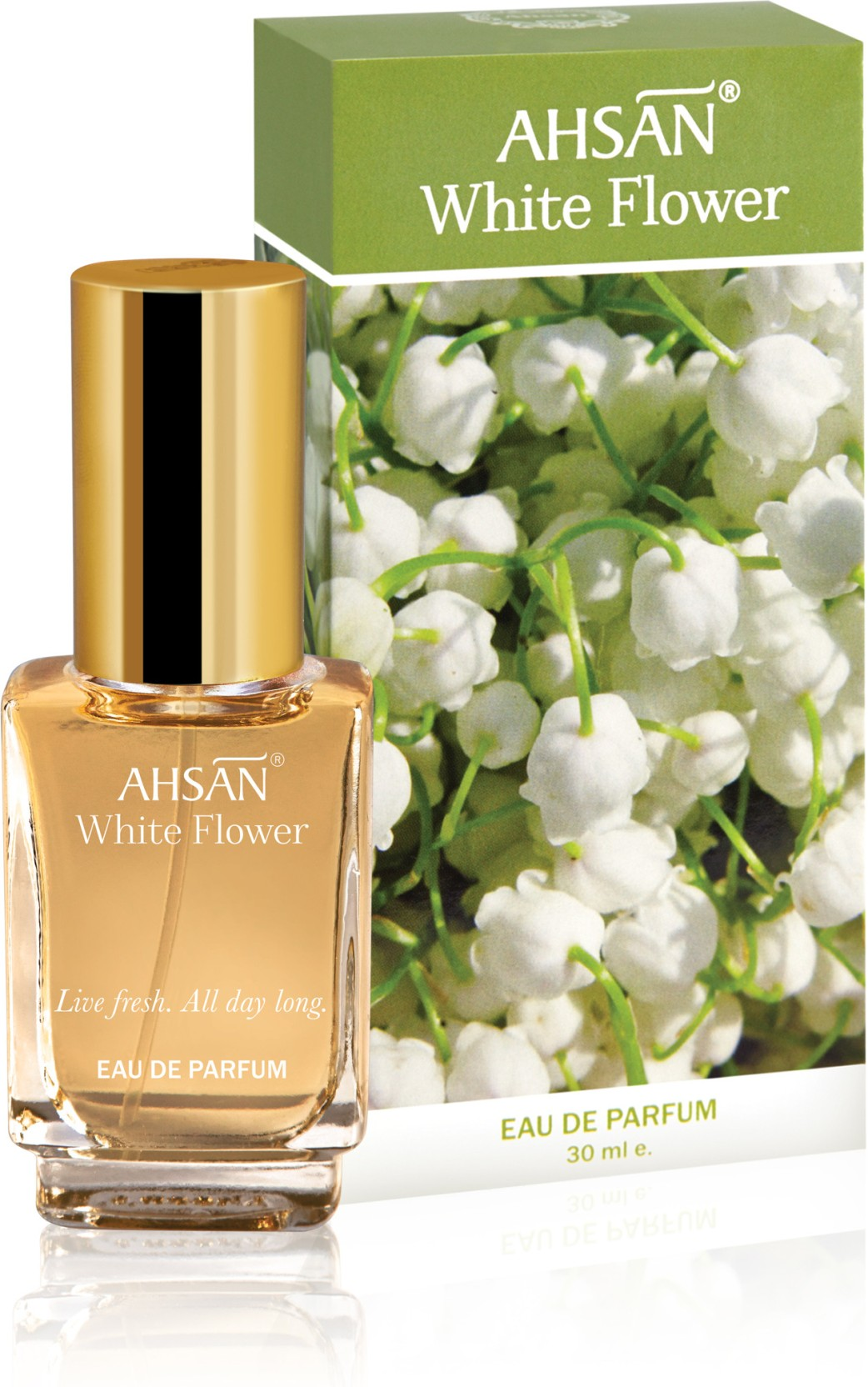 Buy Ahsan White Flower Edp 30 Ml Online In India Flipkart