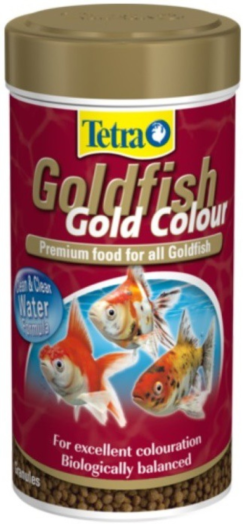 Tetra Goldfish Gold Colour 75g/250ml | For Excellent Coloration ...