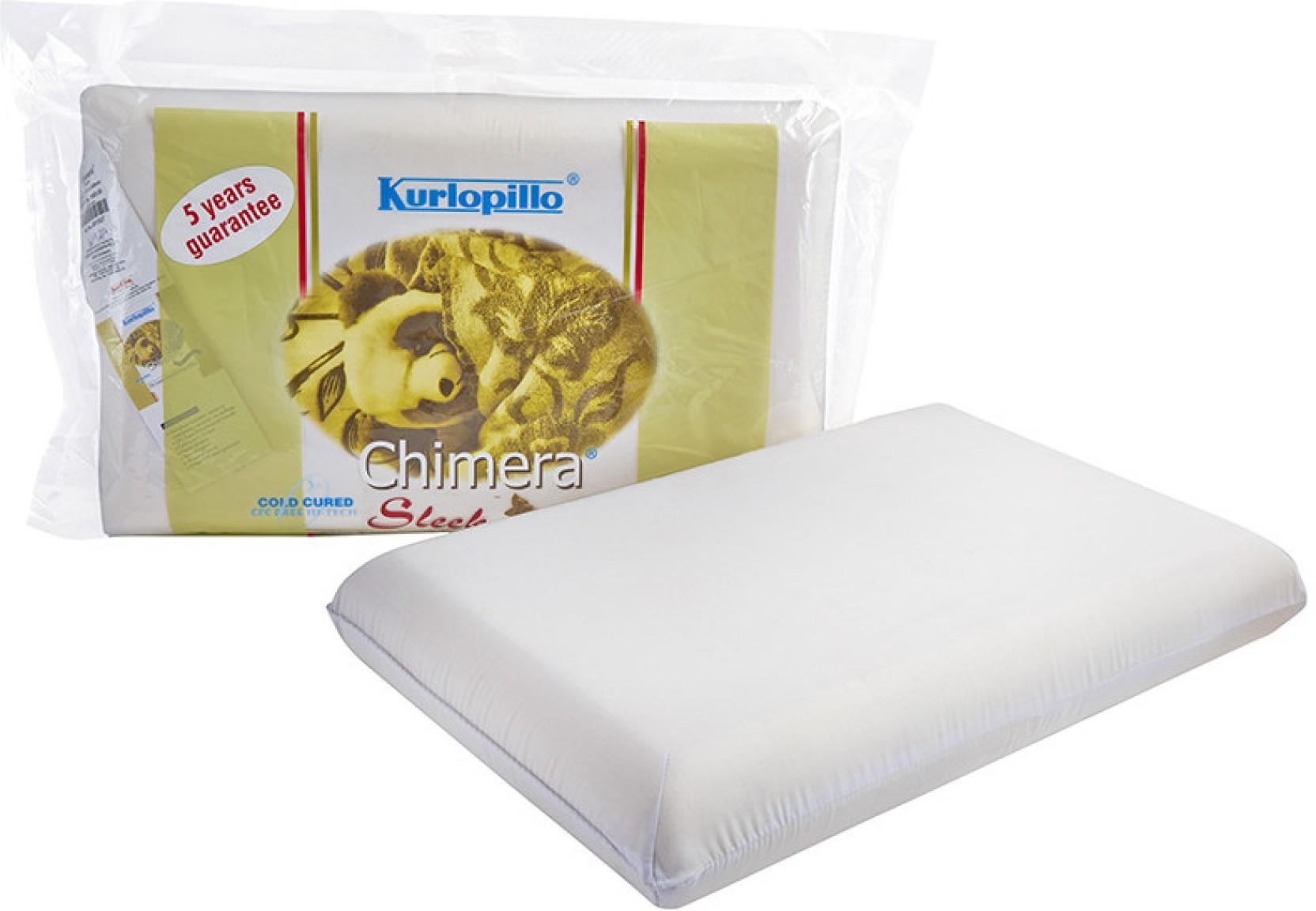 Kurlopillow Solid Bed/Sleeping Pillow