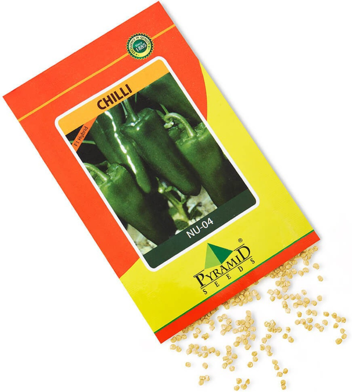 Pyramid Hybrid Chilli Nu 04 Seed Price In India Buy Nuu F1 On Offer