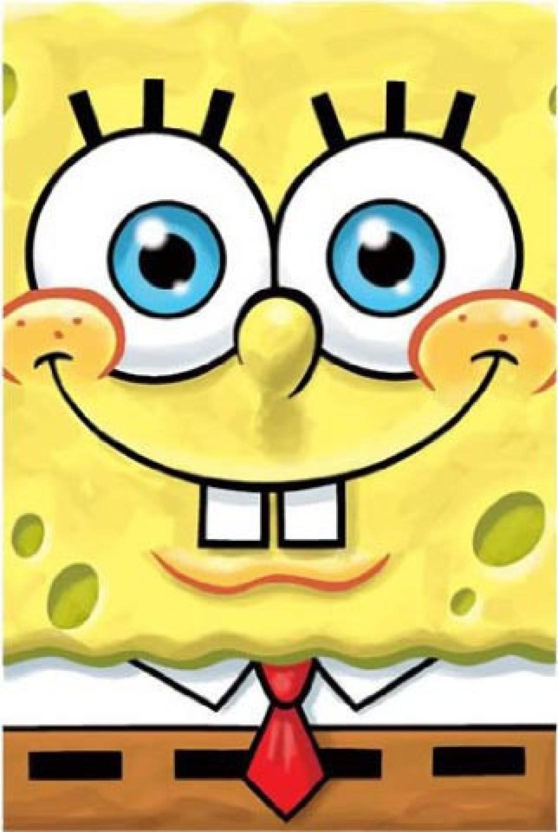 Nickelodeon Spongebob Squarepants Smile Poster Paper Print ...