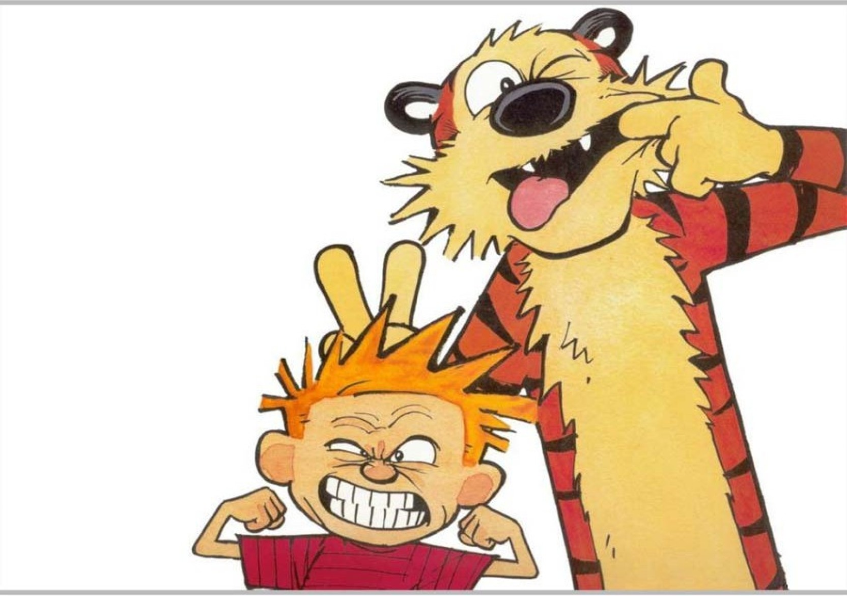 Calvin And Hobbes Poster Paper Print - Animation & Cartoons posters ...