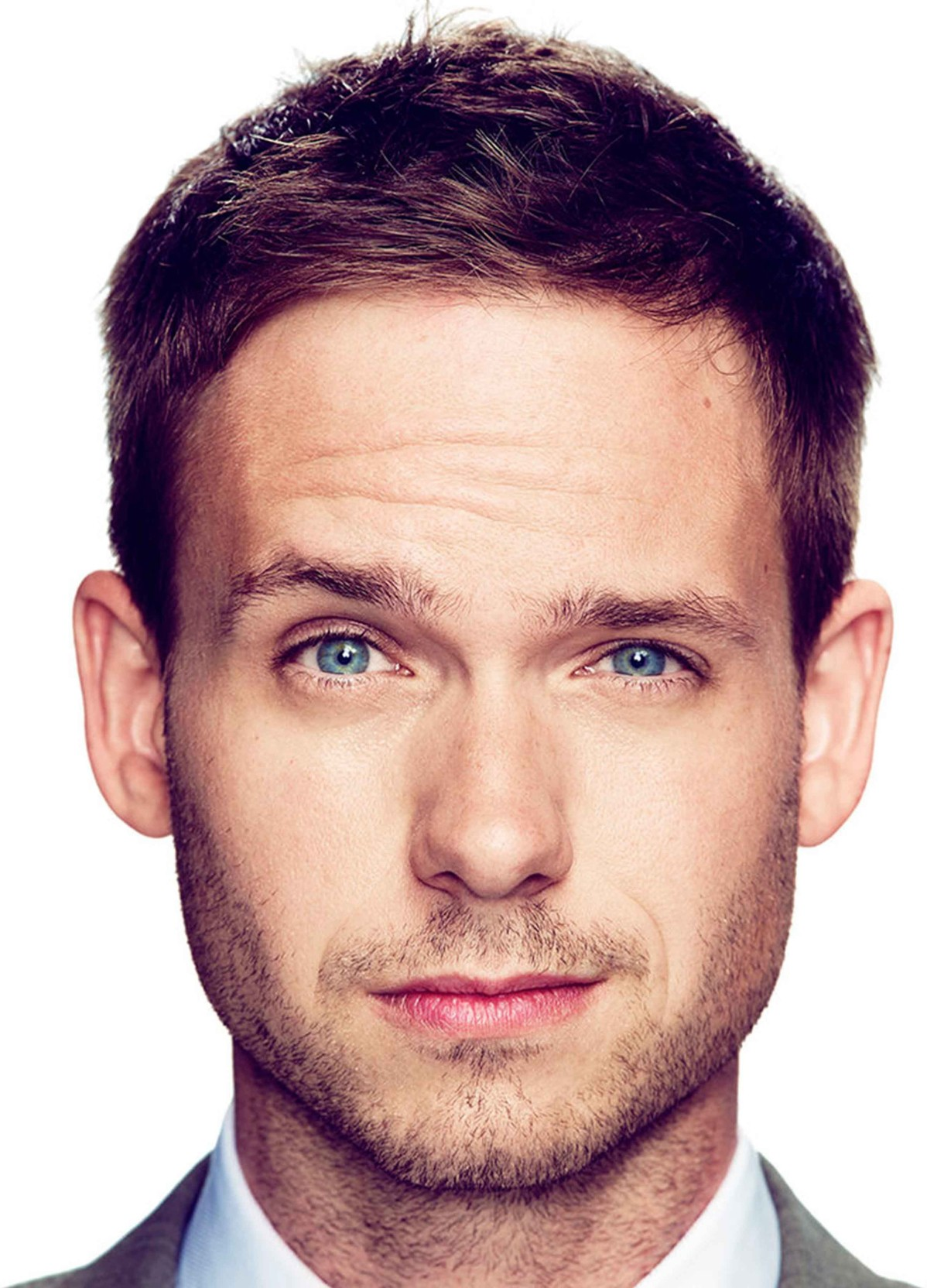 suits - mike ross - the eyebrow raise paper print - tv series