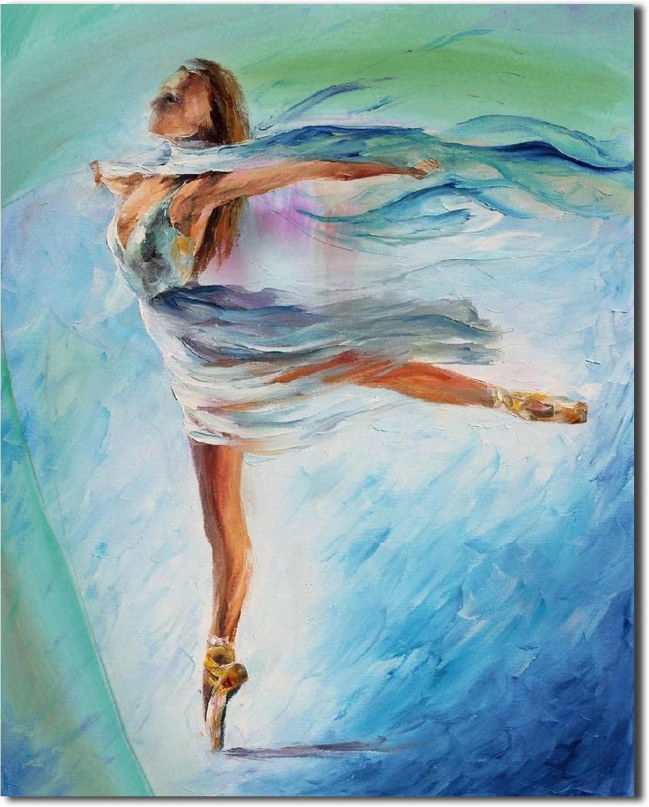 Houzz Beautiful Sexy Ballerina Girl Fine Art Print