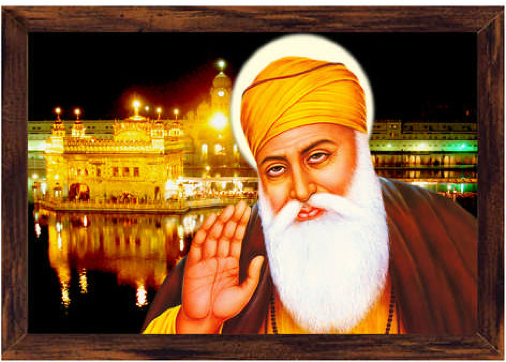 Guru Nanak Dev Ji Canvas Art Religious Posters In India