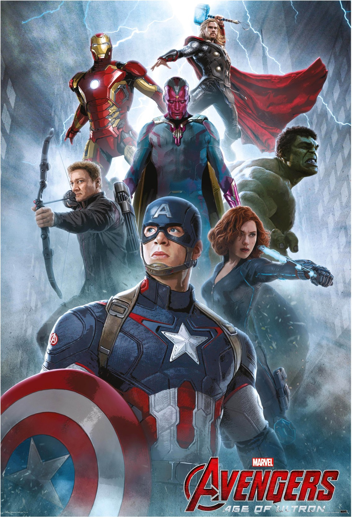 """The Avengers 24/"""" x 36/"""" movie poster print"""