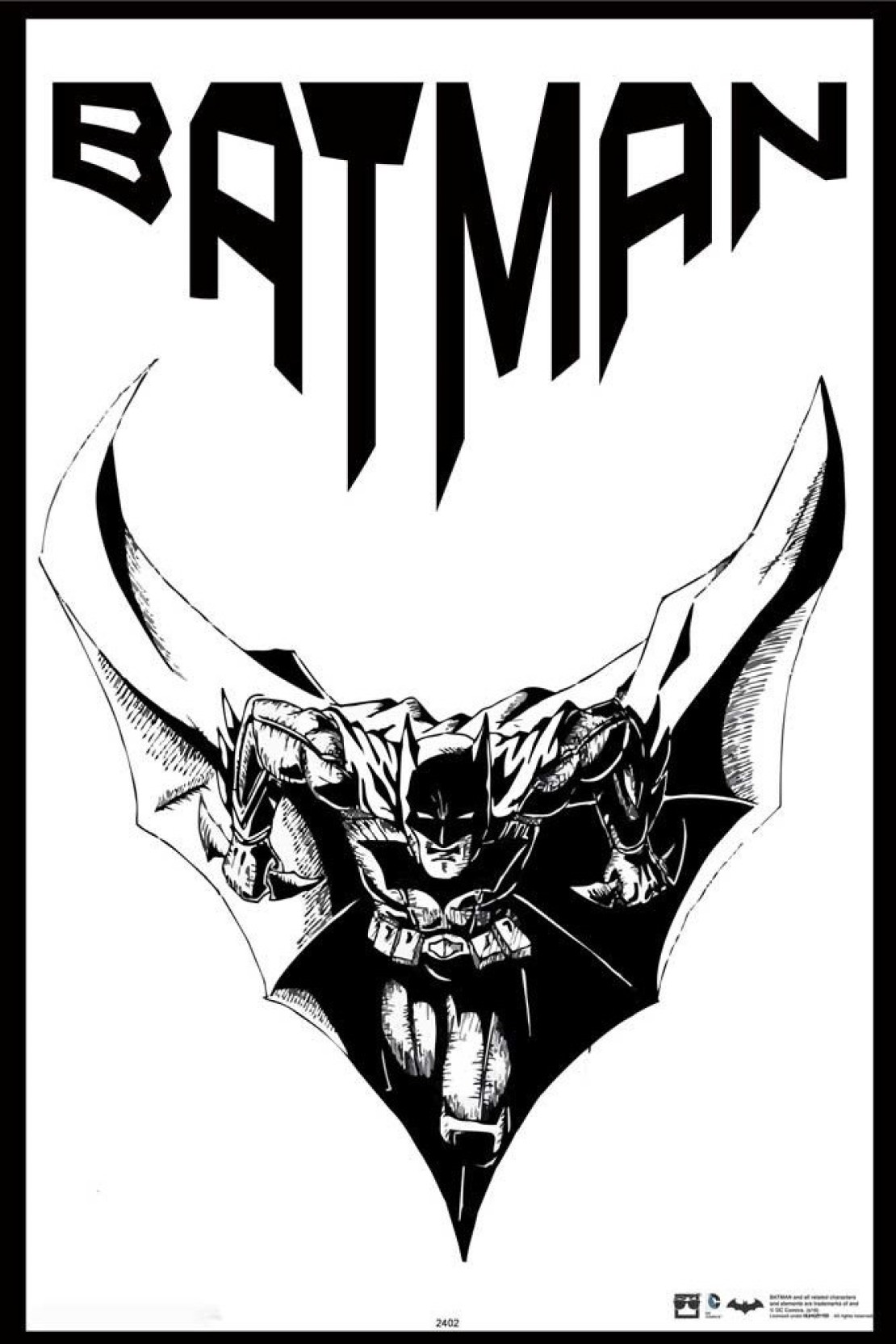 Hungover batman official artwork special paper poster 12x18 inches paper print 18 inch x 12 inch