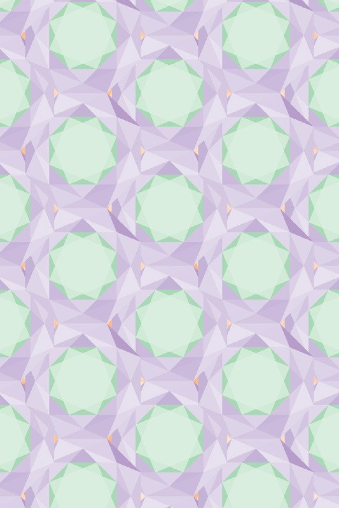 Athah Poster Diamond Pattern Purple Paper Print - Abstract posters