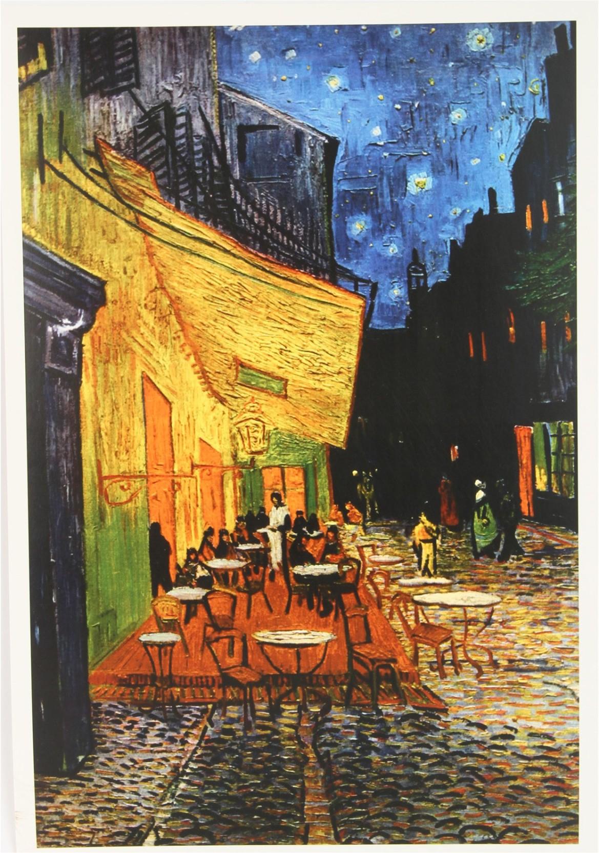 Vincent Van Gogh The Cafe Terrace On The Place Du Forum