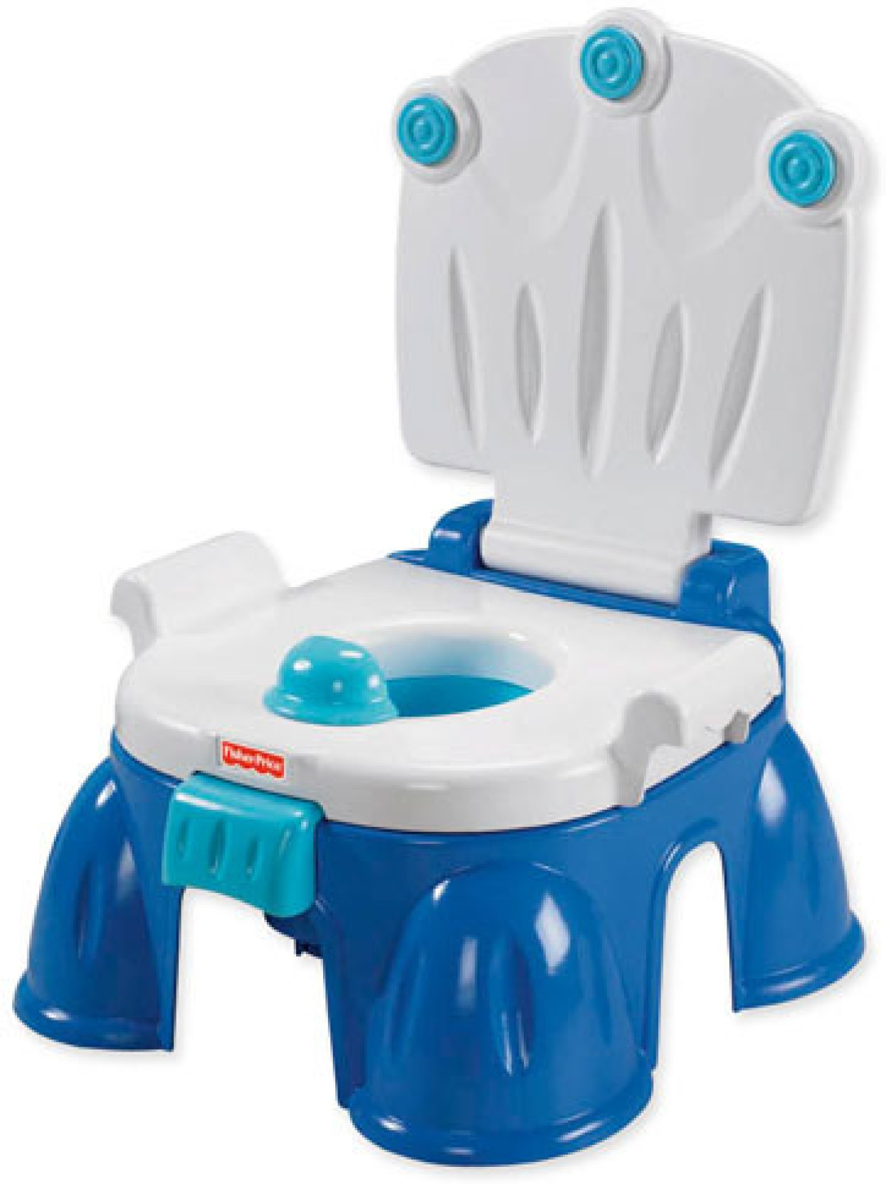 Fisher Price Royal Step Stool Potty Chair Plastic Potty