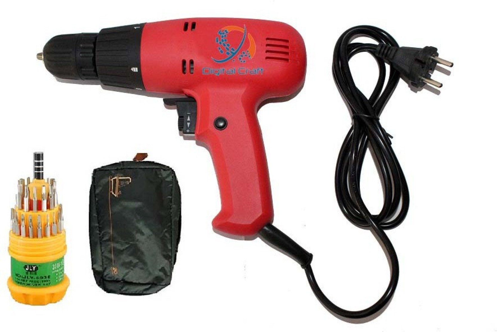 Network drill-screwdriver