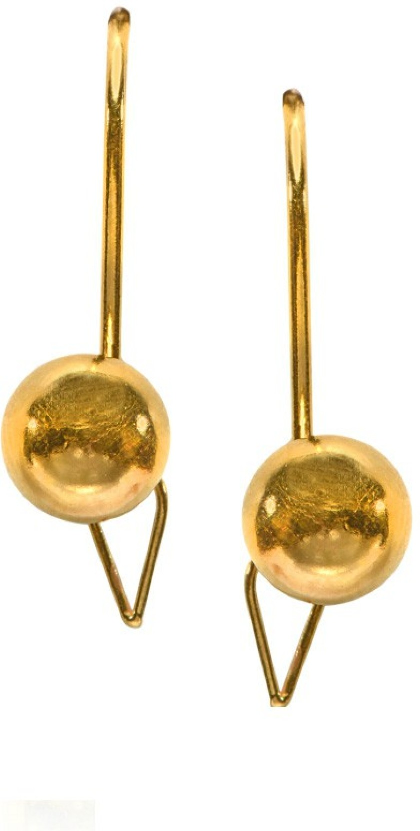 Senco Gold Yellow Gold 22kt Hoop Earring | Buy Senco Gold Yellow ...
