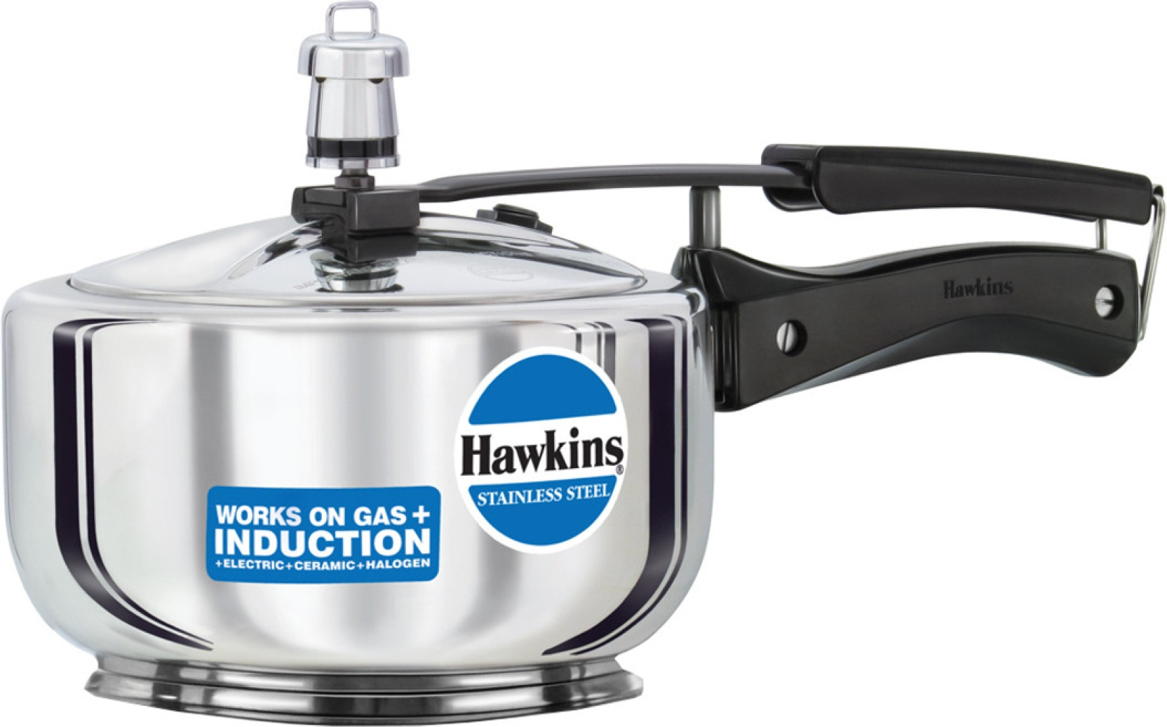 Hawkins Stainless Steel 2 L Pressure Cooker with Induction ...