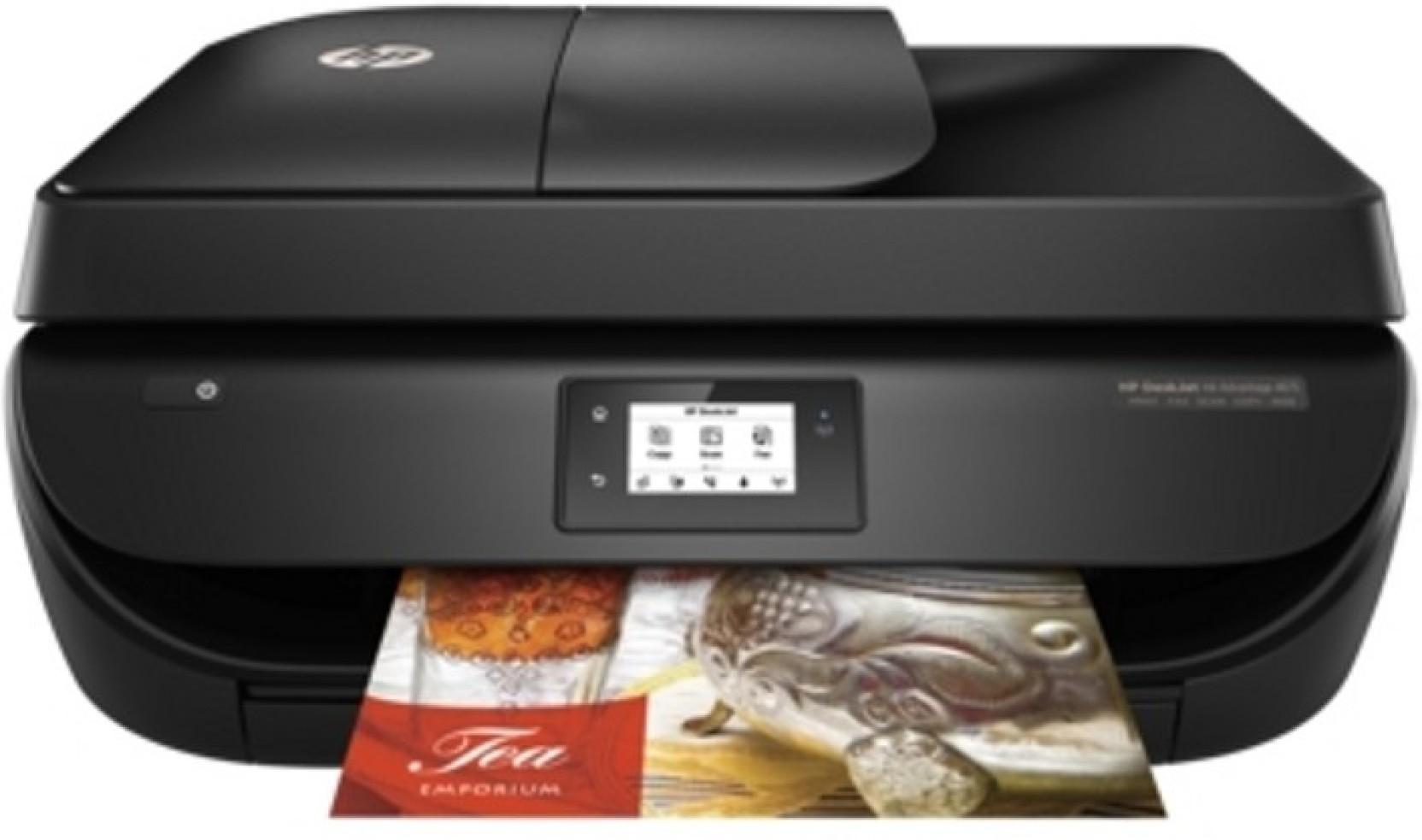 Hp Deskjet Ink Advantage 4675 All In One Multi Function Wireless 680 Tri Color Original Cartridge Home