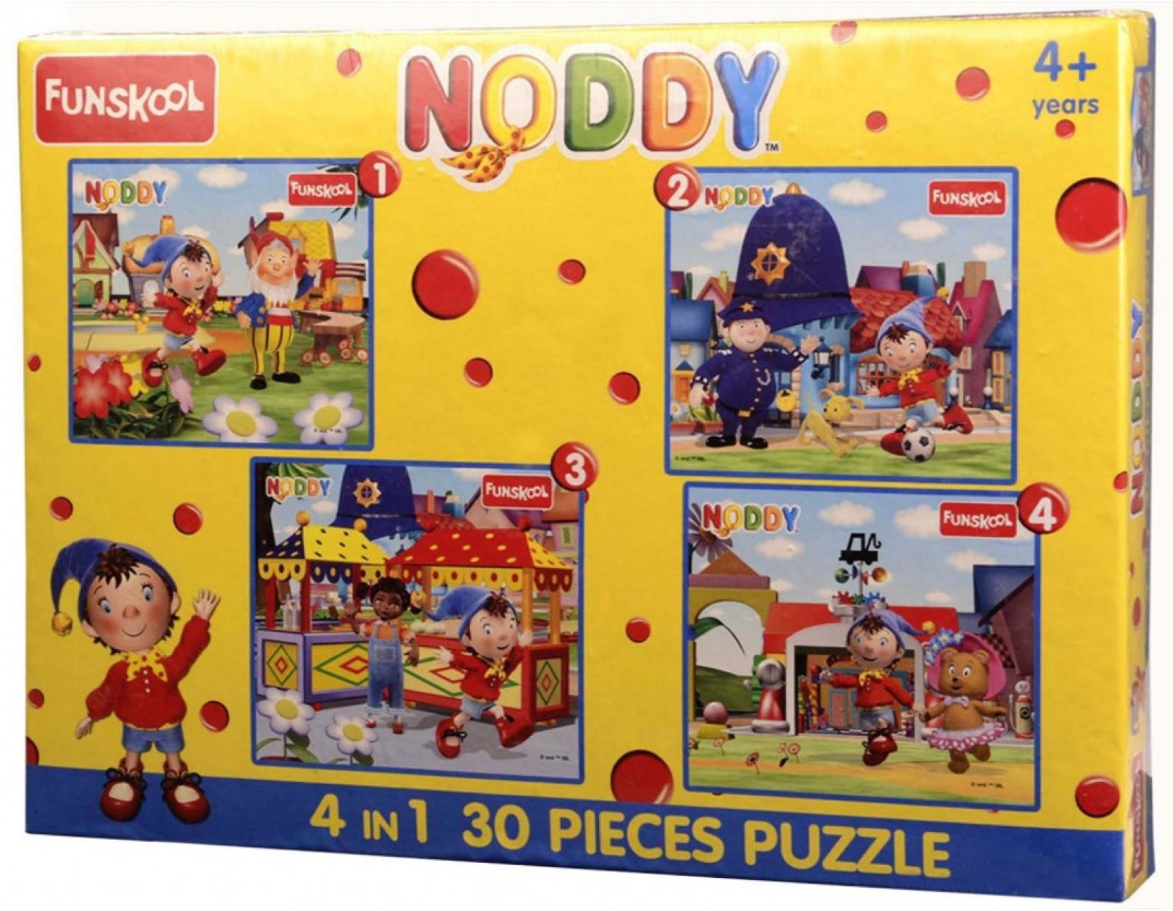 87f545d8cd Funskool 4 in 1 Puzzle - Noddy - 4 in 1 Puzzle - Noddy . Buy Noddy ...