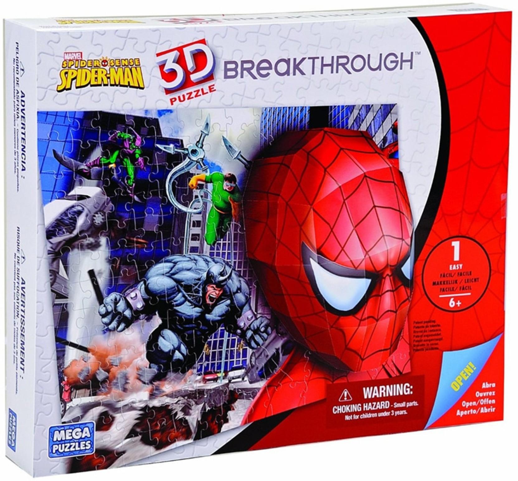 Disney Mega Bloks Breakthrough Spiderman Level 2 Mega