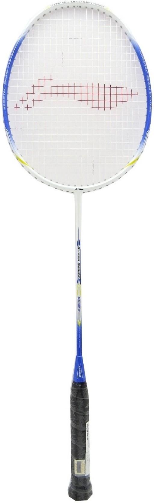 Li Ning Ss 98 Iii Blue White Strung Badminton Racquet Buy Grip Lining Gp 34a Original Add To Cart