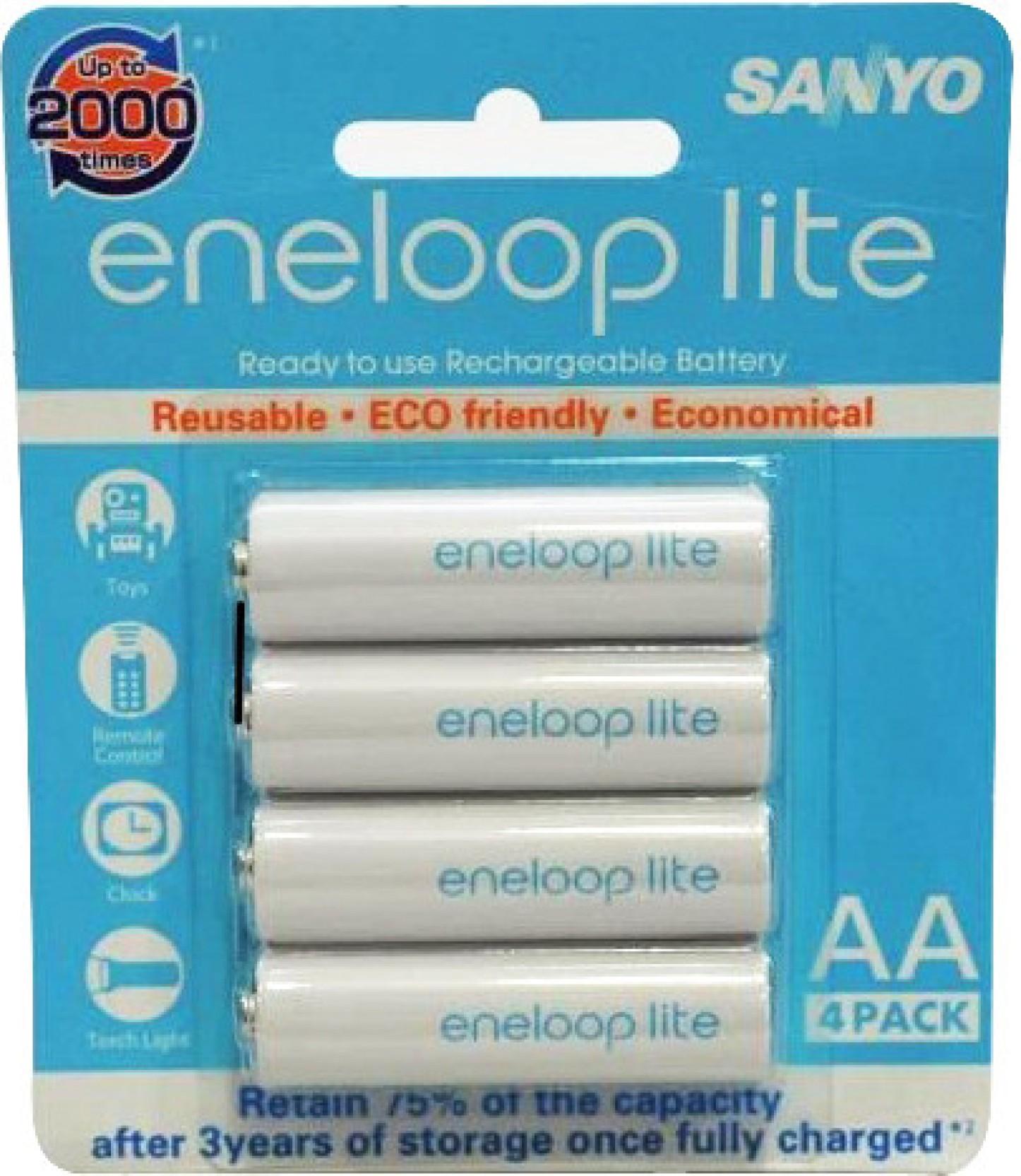 Sanyo Eneloop 4hr 3uq Secp C Battery Aa 2pcs Share