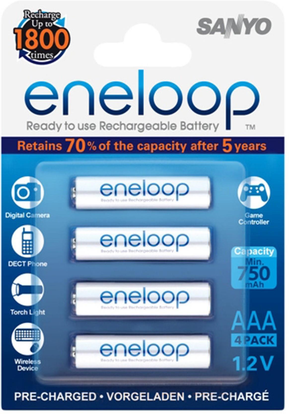 Sanyo Eneloop Hr 4utgb4btm Battery Aa 2pcs Share