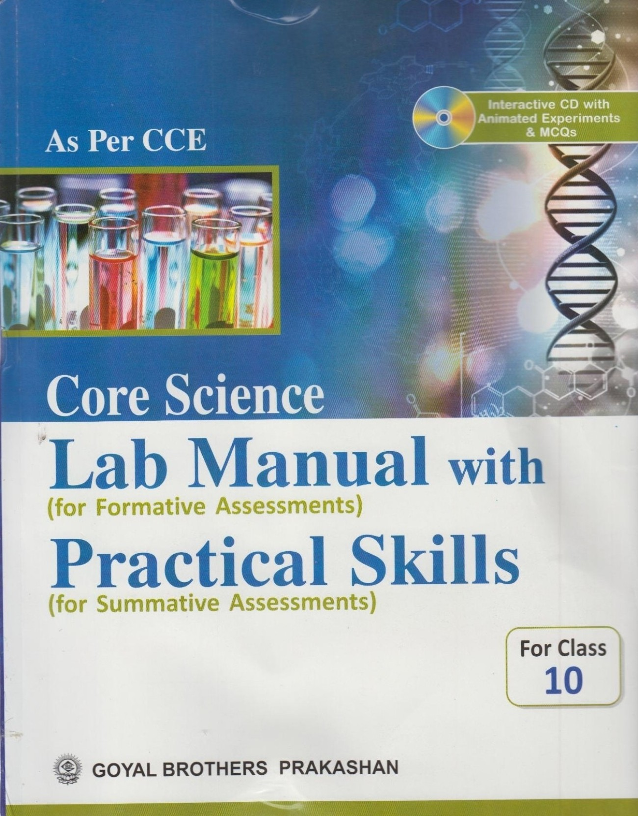 Core Science Lab Manual With Practical Skills For Class 10 (With CD). Share
