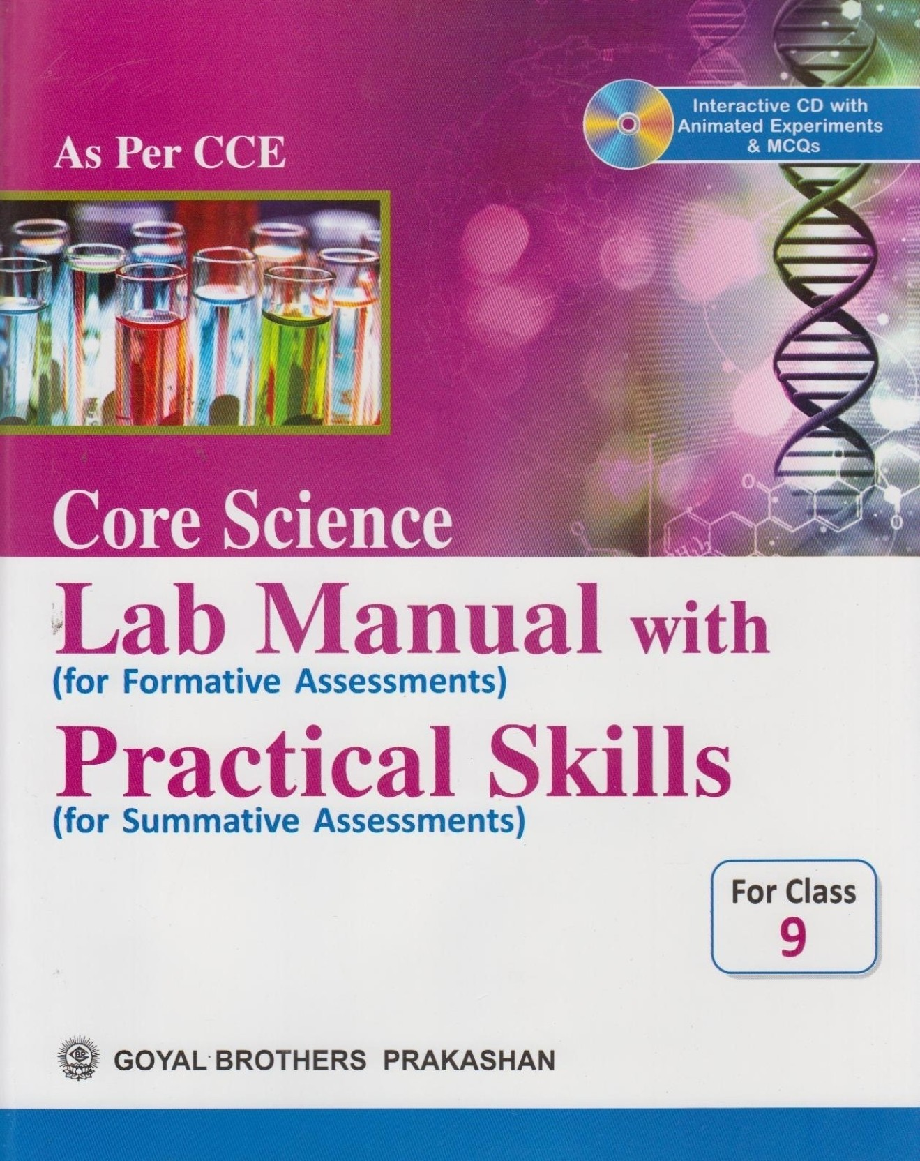Core Science Lab Manual With Practical Skills For Class 9 (With CD). Share
