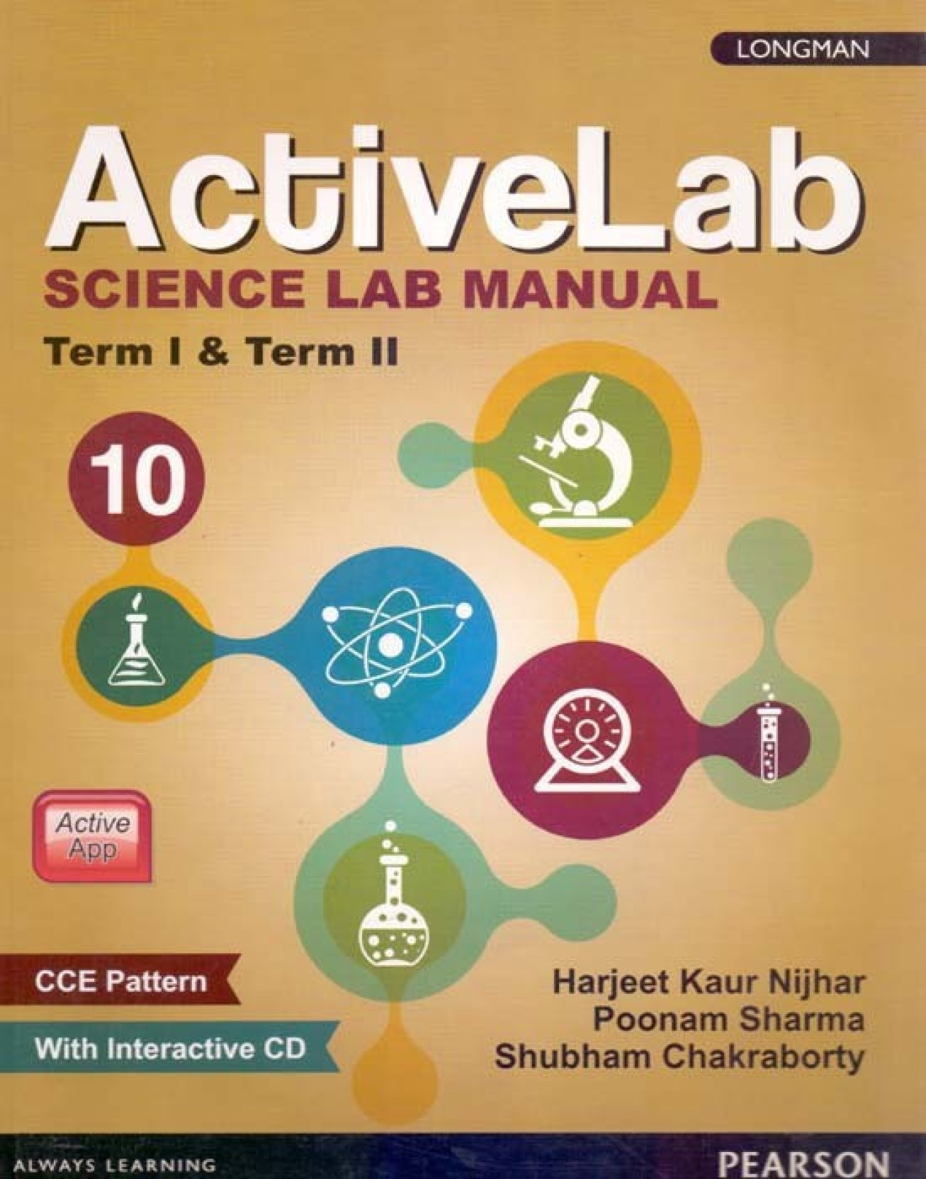 Activelab Science Lab Manual Term I&II Class - 10. Share