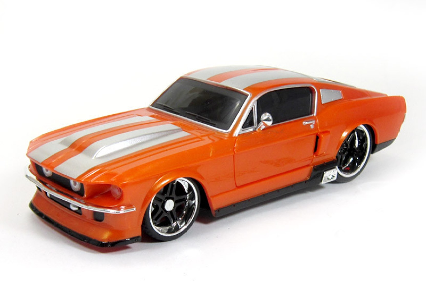 maisto 1967 ford mustang gt rc 1 24 by car scale model. Black Bedroom Furniture Sets. Home Design Ideas