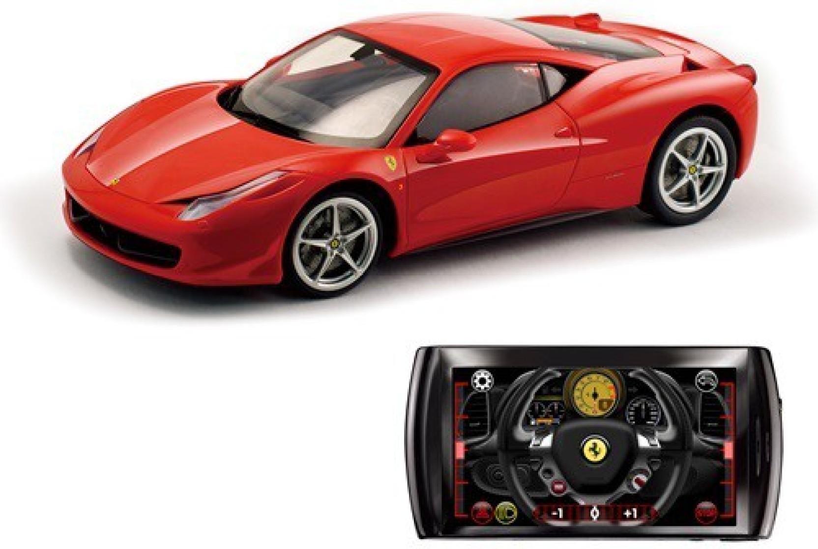 Silverlit Bluetooth Ferrari Italia F458 - Compatibility- Android Products  scale(1:16)