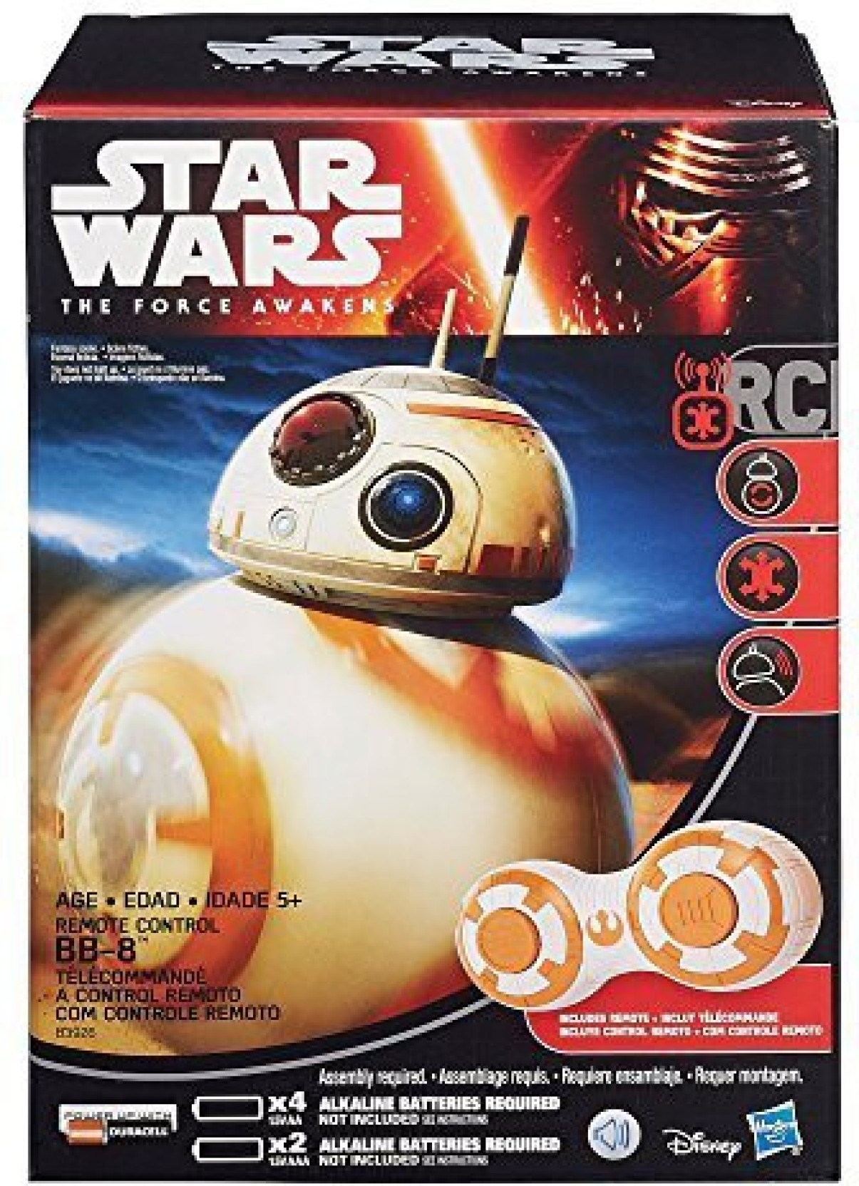 Star Wars Remote Control Bb 8 Droid Bb8 Special Edition Bundle By Sphero App Enabled On Offer