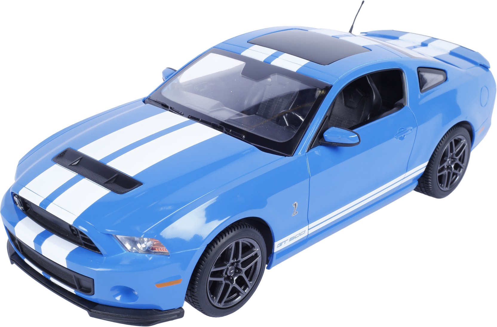 Toyhouse radio remote control 114 ford mustang shelby gt500 rc scale model car blue blue