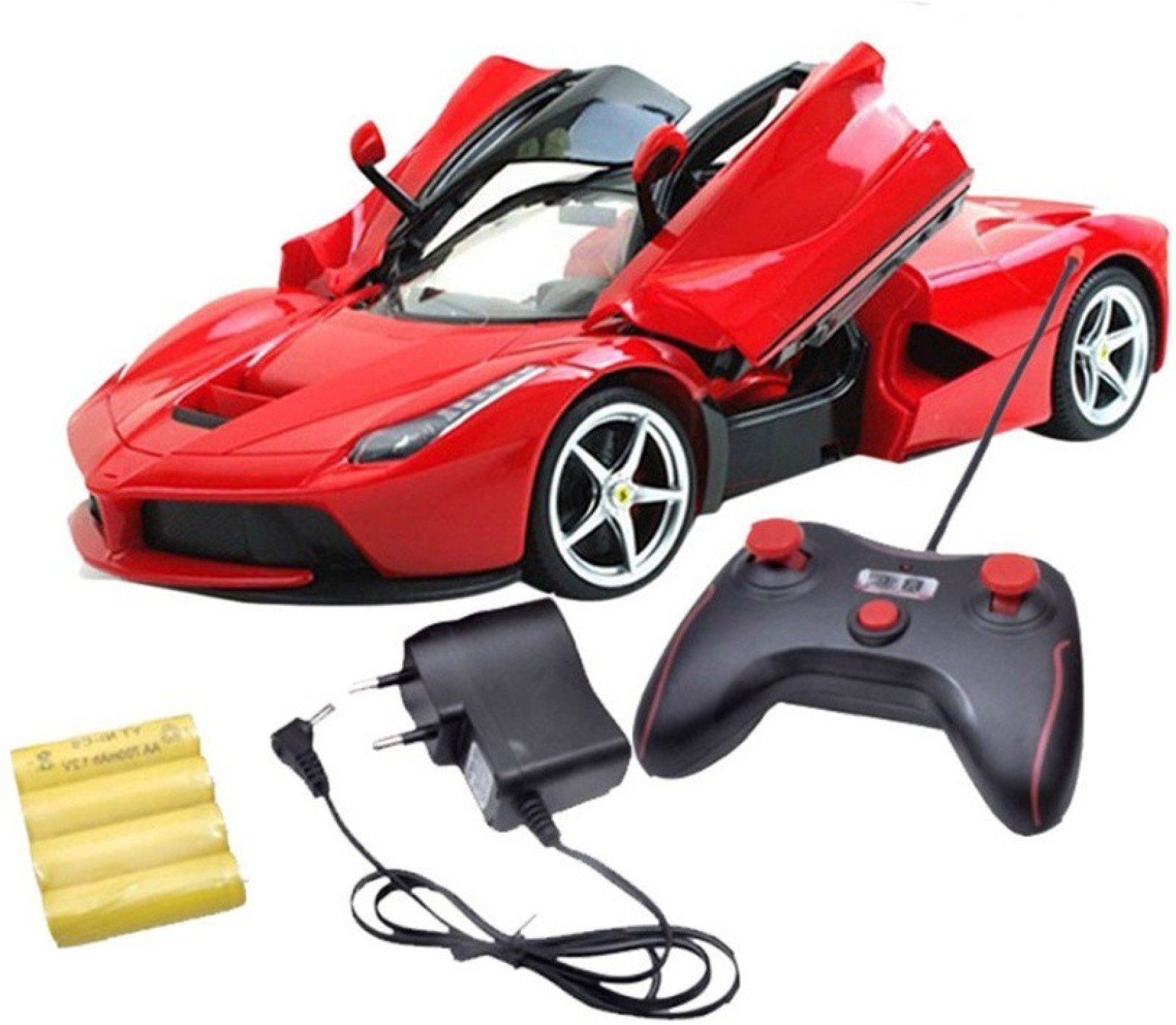 A R ENTERPRISES RED FARRARI REMOTE CONTROL CAR CHARGEABLE ...