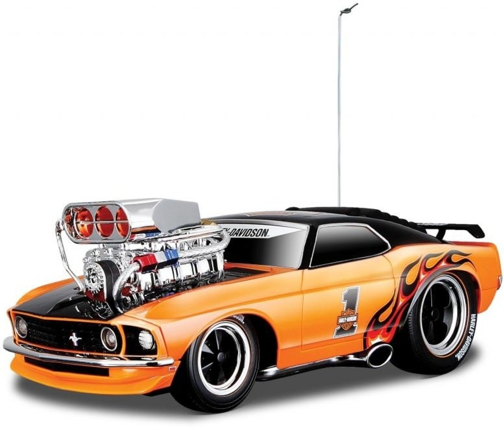 Maisto 1:18 RC 1969 Ford Mustang Boss 302 Muscle Machines ...