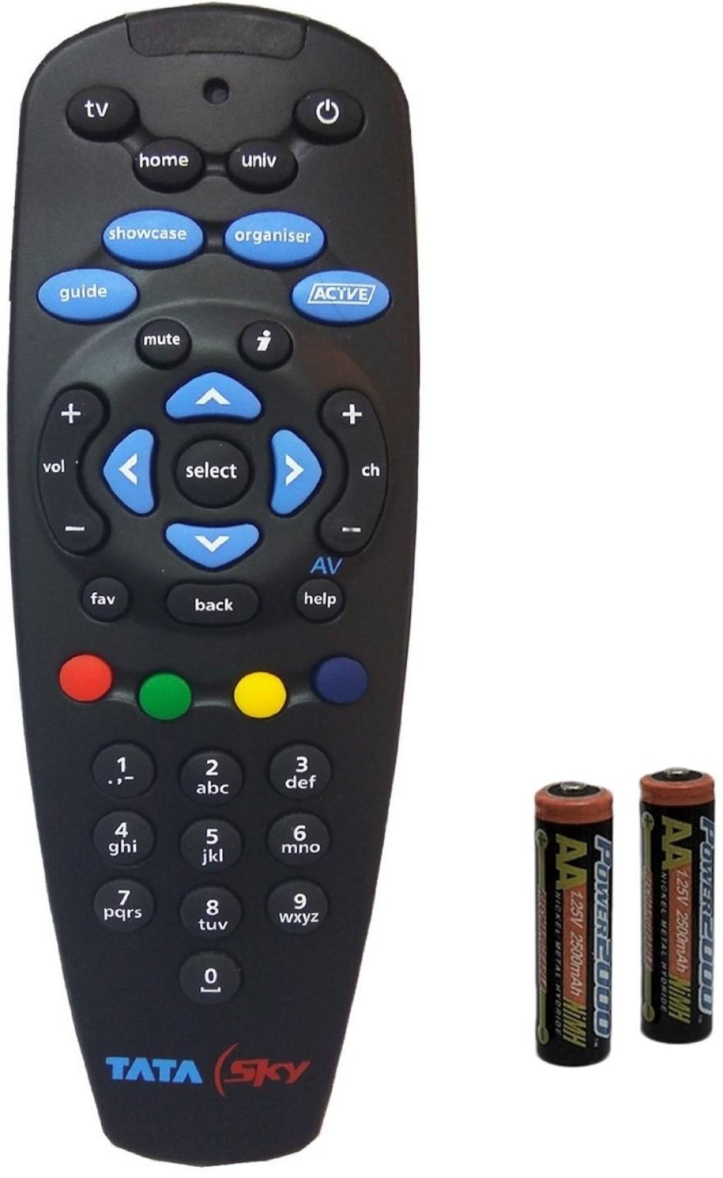 Tata Sky Universal Original Remote Controller Pic Control Add To Cart