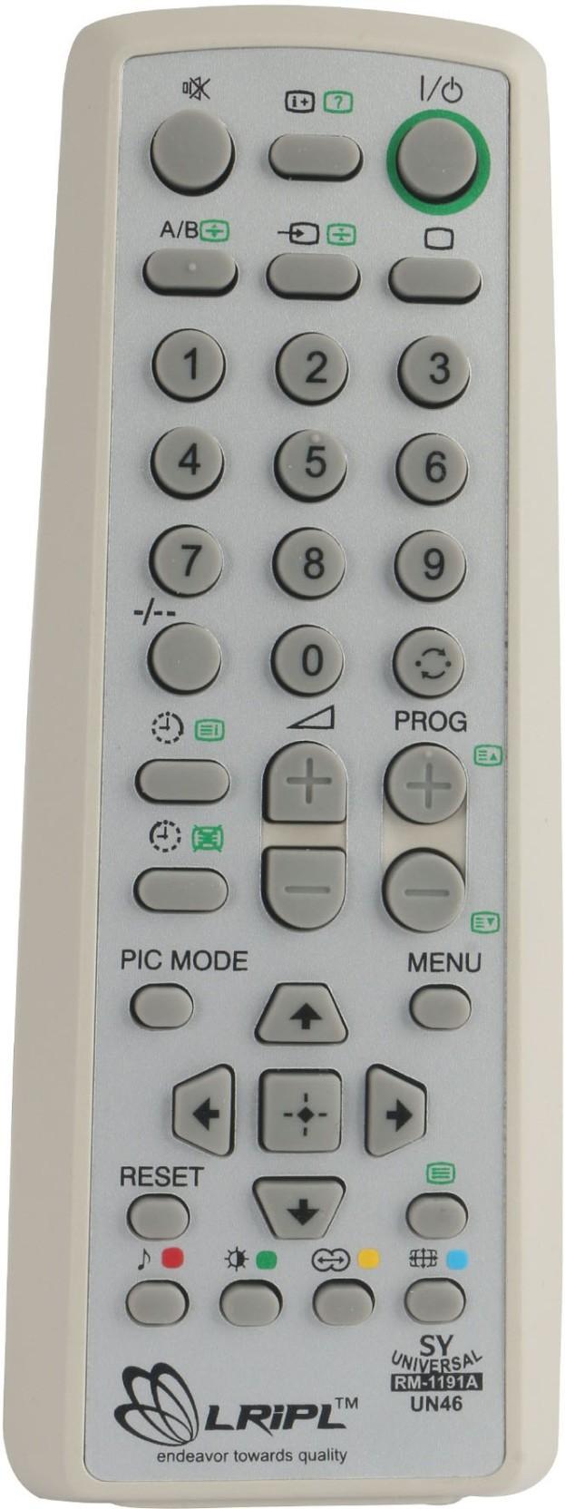 Lripl Universal REMOTE Compatible for Sony TV Remote Controller