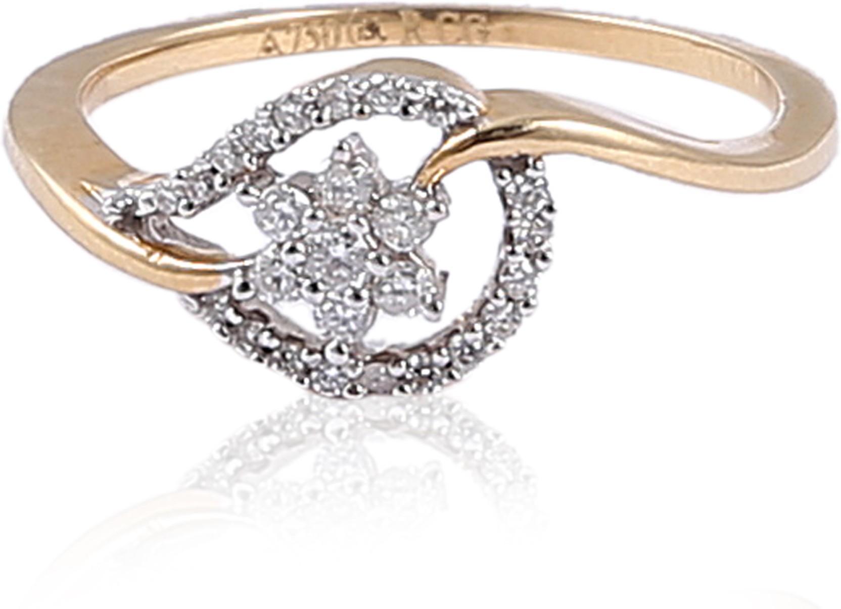Jisha Romance Diamond Collection 14kt Yellow Gold ring Price in