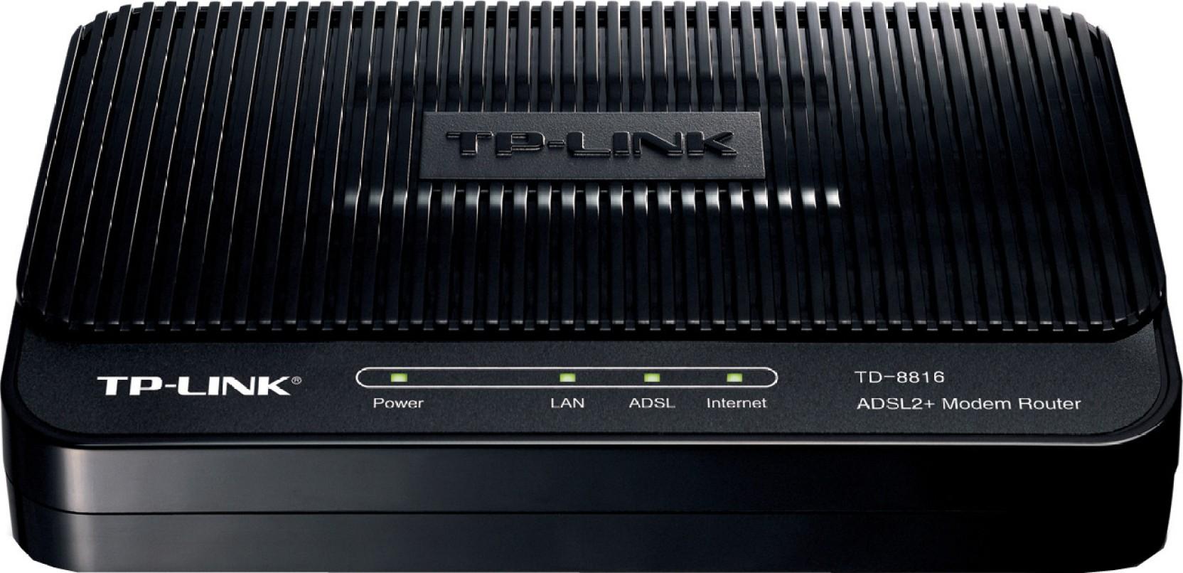 TP-LINK TD-8816 ADSL2 Wired with Modem Router - TP-Link : Flipkart.com