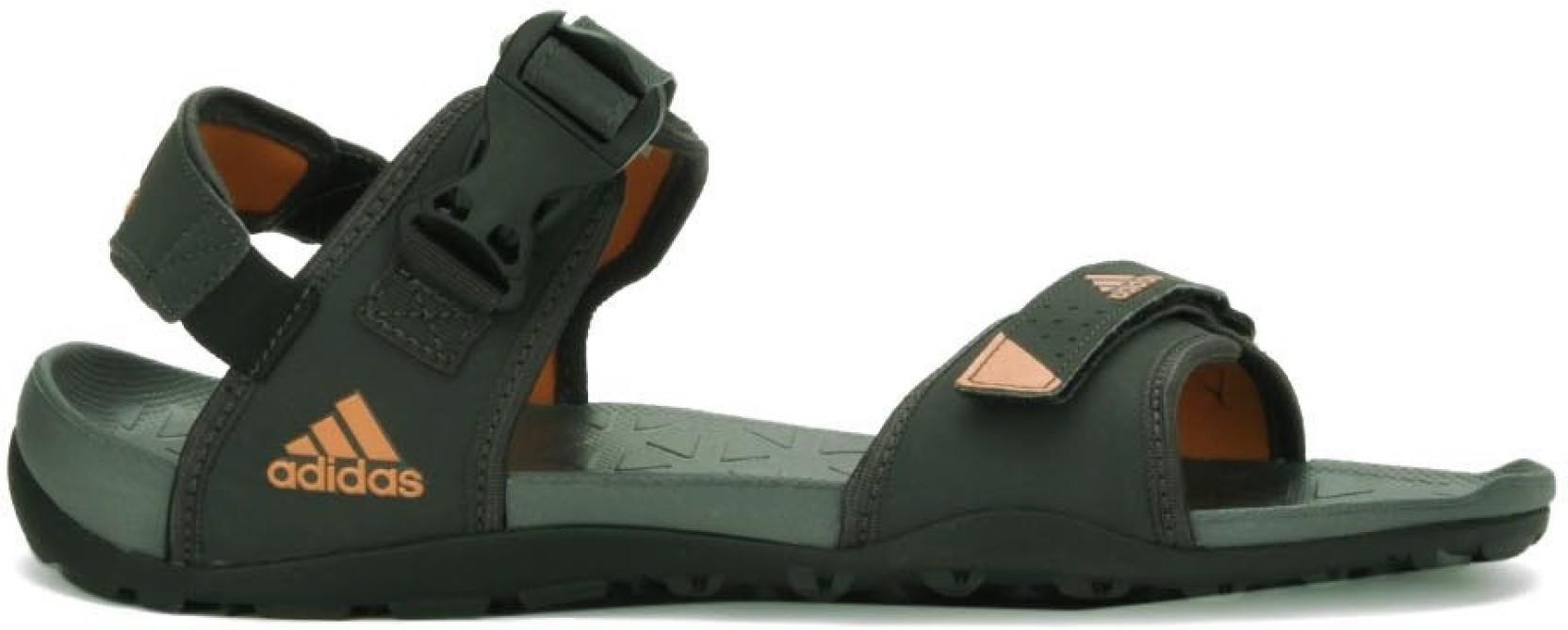 1d25e4391c52 ADIDAS Men Grey.Orange Sports Sandals - Buy UTIBLK UNIORA BLACK ...