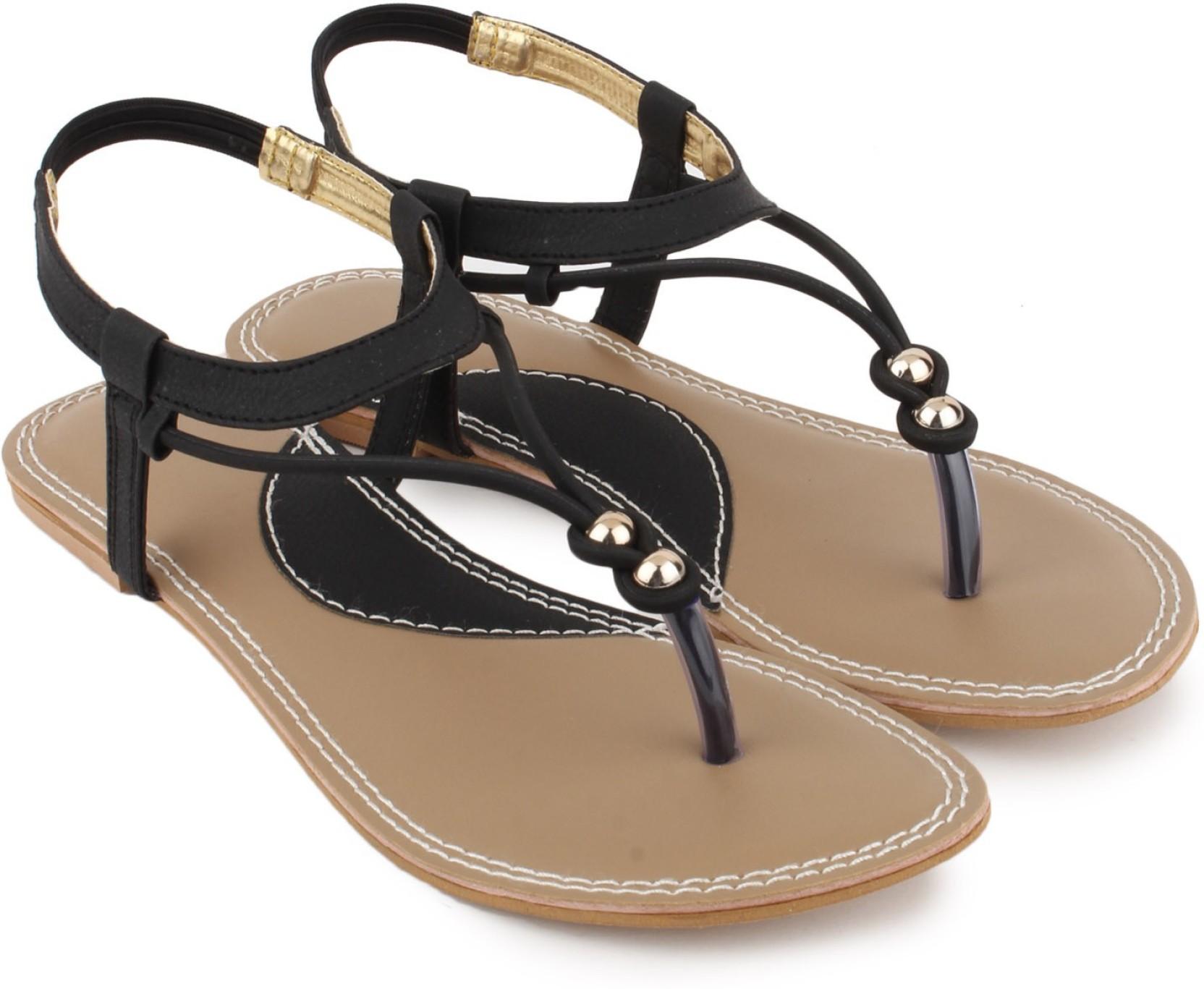 d153fe9d3 Shezone Women Black Flats - Buy Black Color Shezone Women Black ...