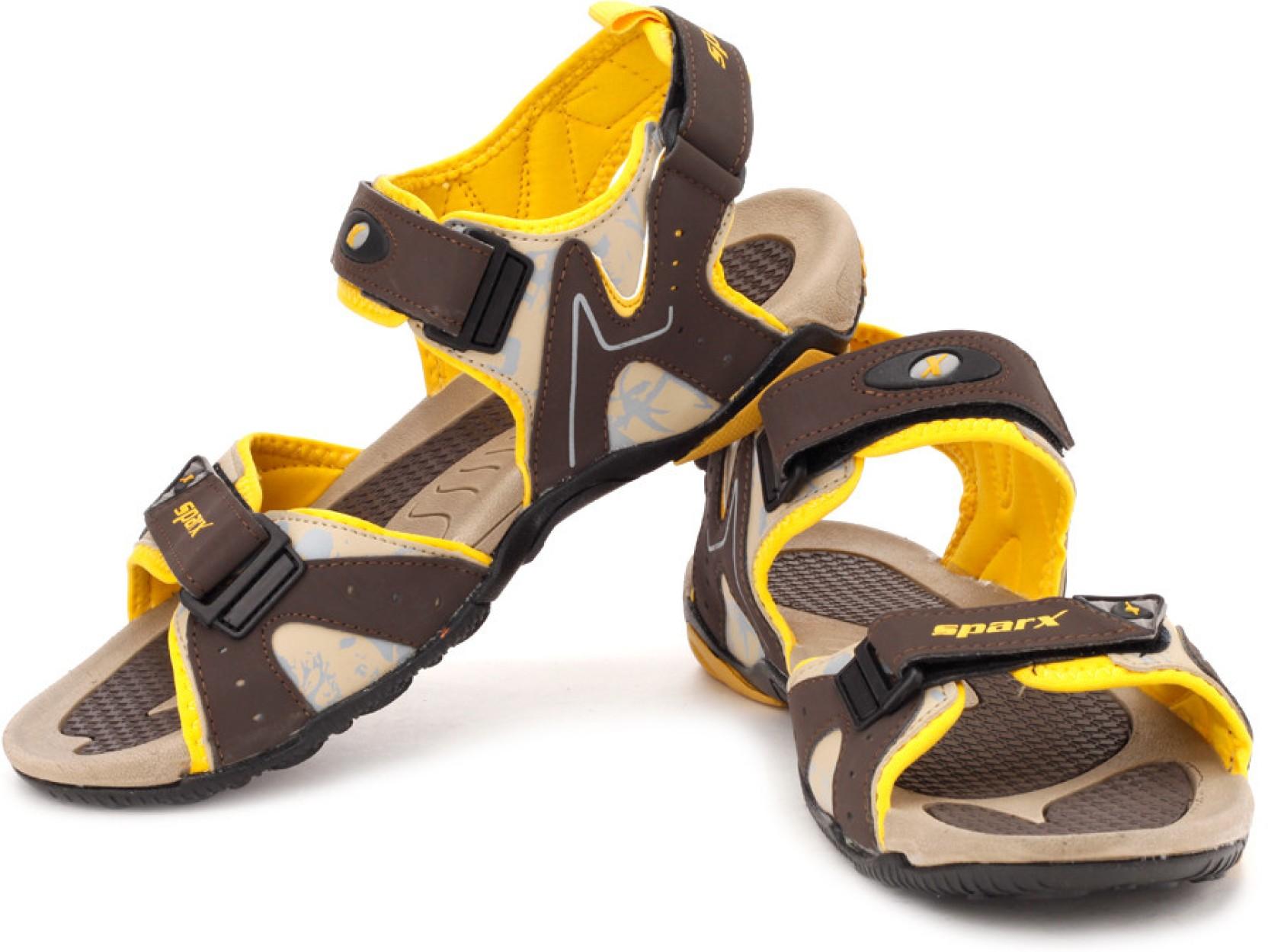Sparx Men Beige Brown Sports Sandals Buy Beige Brown